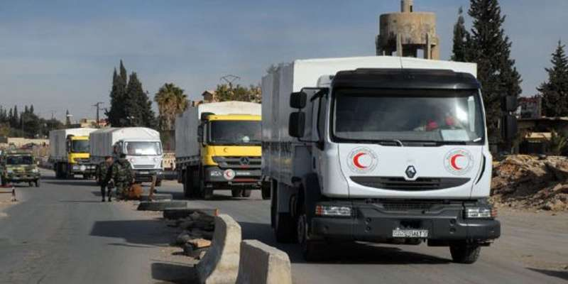 Aid convoy to Syria's besieged Daraya refused entry