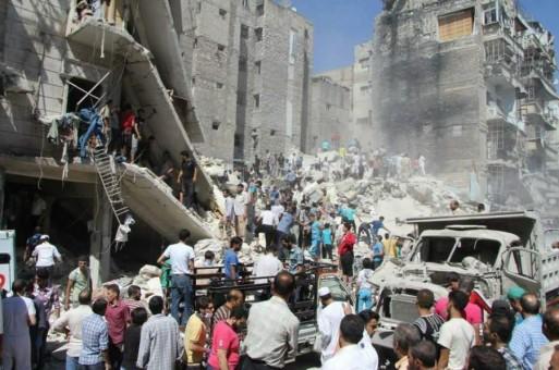 Rebel infighting near Syria capital kills hundreds