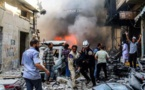 34 civilians killed in bombing on Syria town