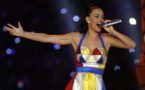 Katy Perry skeletons resemble Trump, May at Brit Awards
