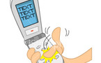 Texting drivers more dangerous than drunks-study