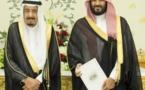 Saudi king ousts nephew, names son as heir