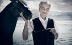 Star Italian tenor Andrea Bocelli sings as robot directs orchestra
