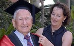 Aussie, 97, becomes 'world's oldest graduate'