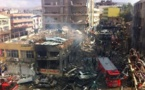 Dozens dead in Turkey car bombings blamed on Syria