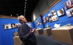 President-turned-artist Bush tells of 'tense' Putin relations