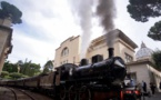 All aboard the Vatican train for pope's summer castle