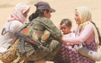 Yazidis burn Muslim homes in Iraq's Sinjar: witnesses