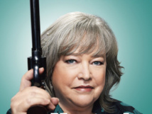 'Misery' actress Kathy Bates gets Walk of Fame star