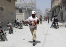 Syria's White Helmets: 'heroes' who run towards bombs