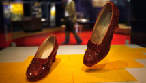 Kickstarter campaign aims to save Dorothy's fading ruby slippers