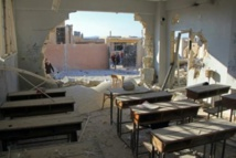 Russia denies role in bloody strike on Syria school