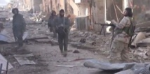 Soldiers metres away from IS in  Deir Ezzor