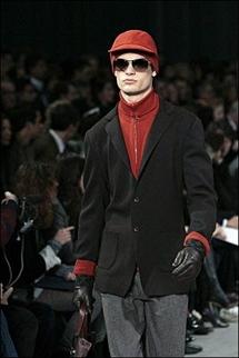 Hard times reflected in Paris men's fashion