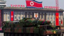 Troops mass in Pyongyang show of strength