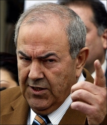 Iraq far from peace and wracked by sectarianism: Allawi