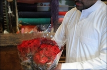 Be my Valentine -- but shh, Saudi vice cops are watching
