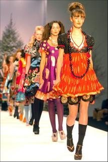 Designers offer elegance and cool on London catwalks