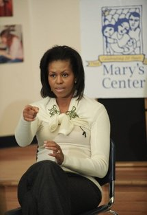 Michelle Obama confirms choice of first pooch