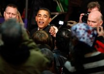 Obama vows to drive waste from stimulus plan