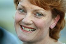 Papers apologise to Australia's Hanson over raunchy