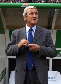 Football: Lippi dismisses Trapattoni's David and Goliath analogy