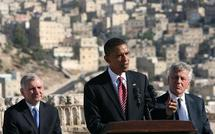 Obama dives into Mideast peacemaking