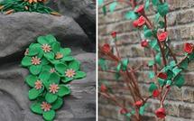 Plasticine 'paradise' stars at low-key Chelsea Flower Show
