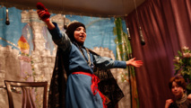 Syria girls escape nightmare of war with Snow White fable
