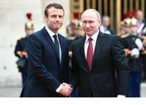 Macron vows reprisals if chemical weapons used in Syria