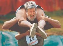 Finland ends Estonia's reign in wife-carrying
