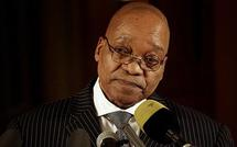 SAfrica's Zuma condemns protest violence