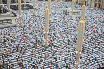 King Salman attends Eid al-Fitr prayers in Mecca