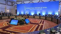 Fifth round of Syria talks begins in Kazakhstan
