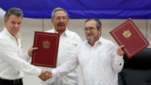 """An historic day"": Colombia conflict with FARC officially over"