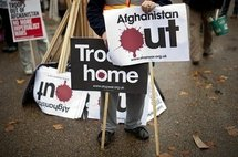 Support grows in Britain for Afghanistan pullout: poll