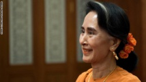 Oxford college takes down portrait of Aung San Suu Kyi