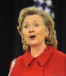 US Secretary of State Hillary Clinton (AFP/Georges Gobet)