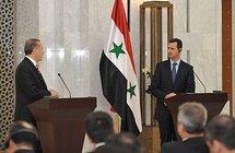 Turkish Prime Minister Recep Tayyip Erdogan and Syrian President Bashar al-Assad