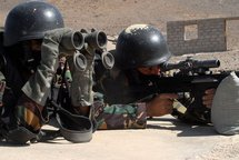 Members of the Yemeni counter-terrorism force