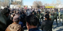 Iran officials blame Islamic State as two demonstrators reported dead