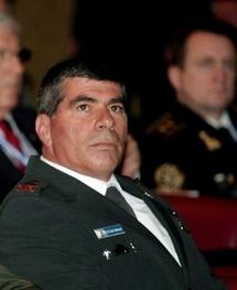 Israel's armed forces chief Lieutenant General Gabi Ashkenazi in Ankara in March. (Adem Altan/AFP)