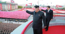 North Korea stages military parade on eve of Winter Olympics