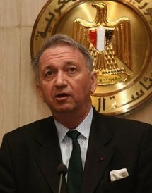 UN special envoy Terje Roed-Larsen in 2008
