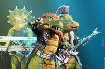 Heavy metal dinosaurs rock the kiddie crowd in Finland