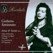 A cover of a Giulietta Simionato album