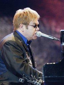 British pop star Elton John