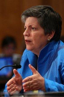 US Homeland Security Secretary Janet Napolitano