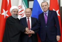 Russia, Turkey and Iran seeks unity on Syria, but divisions remain