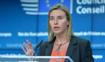 EU's Mogherini says bloc will trigger WTO dispute case on Friday